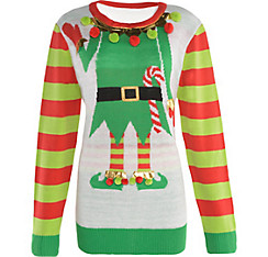 Tonight is the Holiday Potluck & Ugly Sweater Party!