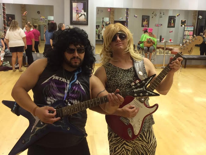 80's Themed Potluck Party Friday the 14th!